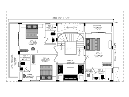 3 bhk independent house plan india arts