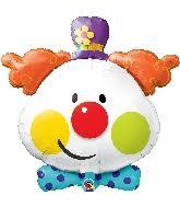 clown baloons bargain balloons clown 2fcircus mylar balloons and foil balloons