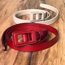belt buckle allergy genuine leather women belt anti allergy belt buckle thin belts for