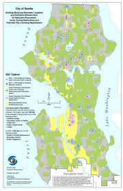 Seattle Maps by Ready For Medical Marijuana Changes Seattle Makes More Room For