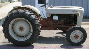 1953 ford naa golden jubilee tractor item a4307 sold se