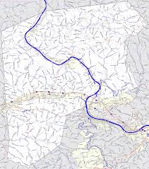 Map Of Wv Bridgehunter Com Putnam County West Virginia