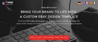 ebay u0027s new feature free ebay listing template builder