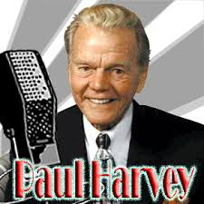Tags: featured, Paul Harvey,