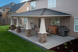 Covered Patio Ideas Zampco - Backyard patio cover designs