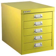 Yellow Metal Filing Cabinet Wonderful Yellow Metal Filing Cabinet With File Cabinet Planter