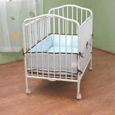 Mini Folding Crib Compact Folding Metal Crib Best Foldable Baby Crib Ababy