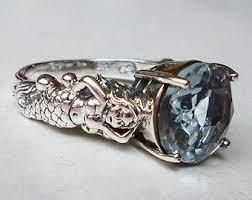 art deco unicorn ring holder images Fairytale ring etsy jpg