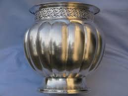 Silver Vase Handcrafted Silver Vase In Silver 800 Italy 1950s Catawiki
