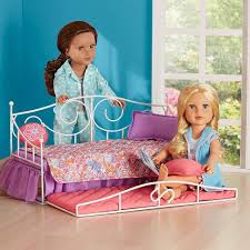 girls trundle bed sets amazon com journey girls sweet dreams 2 doll bloomin u0027 trundle bed