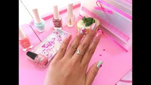 kawaii nail art tutorial youtube