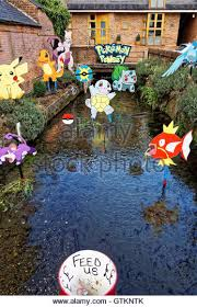 Pokemon Hantei - japanese waterway stock photos japanese waterway stock images