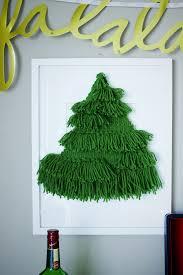 diy woven christmas tree wall hanging emily loeffelman