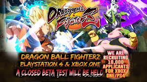 dragon ball fighterz japanese website update details upcoming beta
