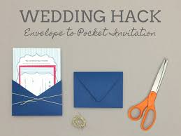 wedding invitation pocket freebie invitation rsvp in seersucker blue print