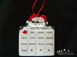 grandparent ornaments personalized celebrate christmas with personalized ornaments our of earth