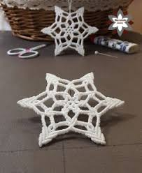 tutorial snowflake ornament ii macramotiv
