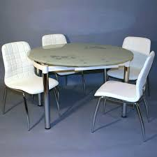 table de cuisine moderne en verre table ronde moderne table de cuisine moderne en verre ensemble table