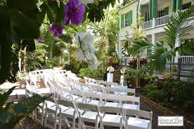 key west wedding venues wedding events audubon house tropical gardens
