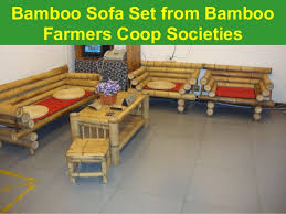 Sofa Bamboo Furniture Tobacco To Bamboo Research Project In South Nyanza In Kenya Experienc U2026