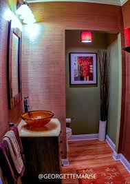 Red Powder Room 3 Reasons To Use Wallpaper U2014 Georgette Marise Interiors