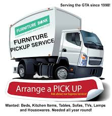 Furniture Pickup Service  Price FURNITURE BANK - Donate sofa pick up