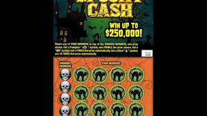 halloween scratch off tickets 5 spooky cash ticket from mass lottery win lottery