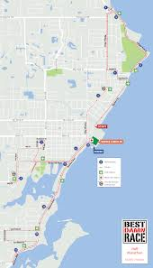 Map Of Clearwater Florida by Course Maps Best Damn Race Safety Harbor Fl
