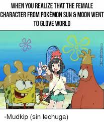 when you realize that the female character from pokemon sun moon