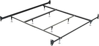 twin full metal glide bedframe w head footboard attachment the