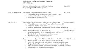 student resume template sle education student resume exle teaching graduate