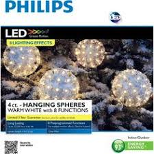 philips 6ct cool white led cascading string lights outdoor