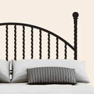 Headboard Wall Decal Headboard Wall Decal Dezign With A Z
