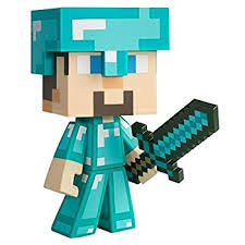 diamond steve jinx minecraft diamond steve vinyl figure toys