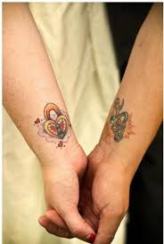 40 stunning couples wrist tattoo