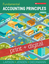 fundamental accounting principles vol 1 with connect with