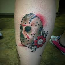 mikeygoliath jason mask goliath tattoo mikey mora original