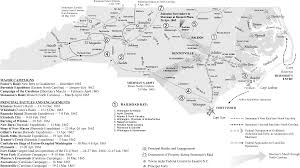 Wilmington Nc Map Civil War Part 5 Military Movements Battles And Outcomes In