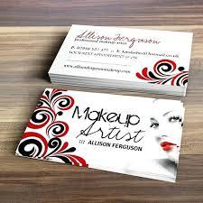 makeup artists business cards makeup business cards templates makeup artist business card