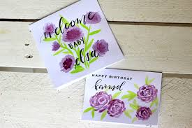 Diy Baby Decor Doleenoted Quilled Nursery Decor And Watercolor Greeting Cards