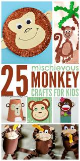 best 25 monkey art projects ideas on pinterest daycare crafts
