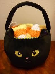 halloween baskets crochet candy corn bake with jill