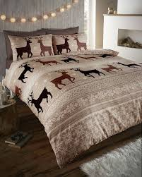 warm u0026 cosy soft brushed cotton duvet cover sets king taupe
