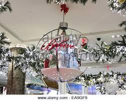 Macy S Christmas Decorations The Macy U0027s Christmas Believe Store Decorations Stock Photo
