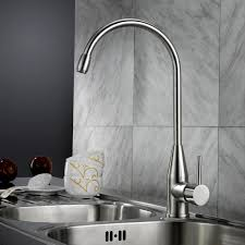 brewst single lever stainless steel kitchen faucet