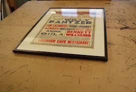 fairground posters museum standard framing apg works blog
