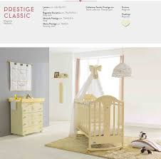 baby cot by pali italian design nursery furniture in magnolia or white