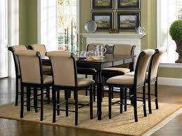 amaretto counter height dining room set from coaster trends with