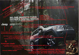 jeep print ads t howe mu english semiotic analysis