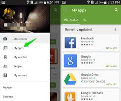 my android apps how to delete android apps ubergizmo